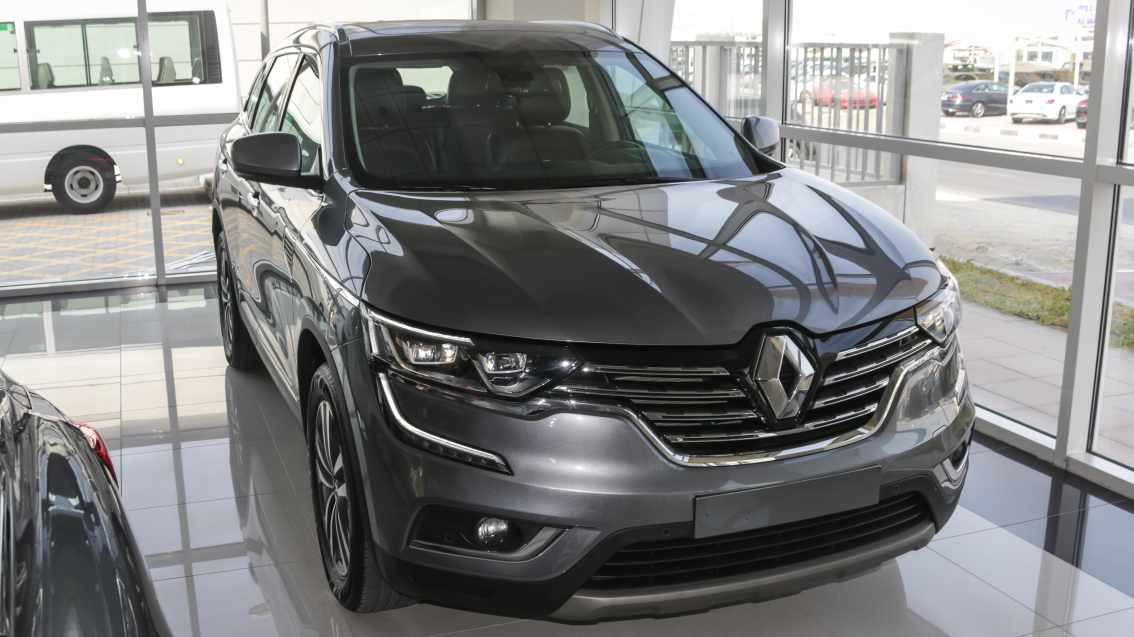 Renault Koleos 2018 Grey For Sale On Getthat Aed 90900
