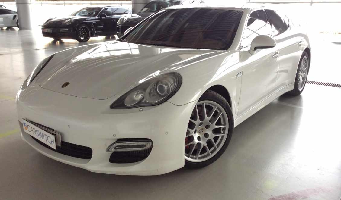Porsche Panamera Turbo 2010 White For Sale On Getthat Com Aed 75 000