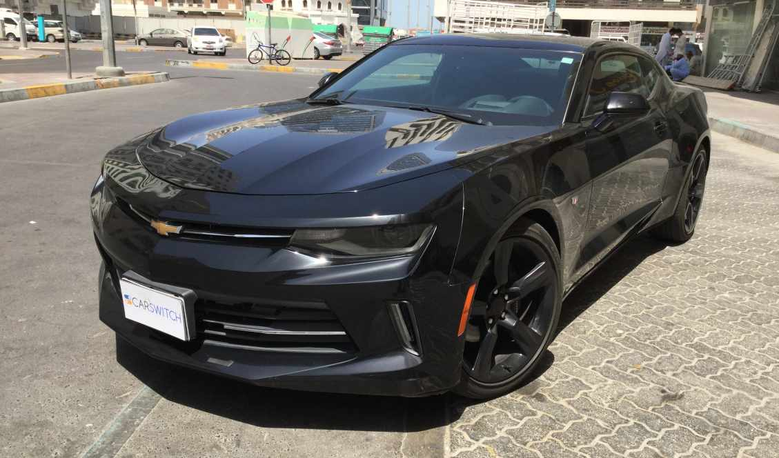 Chevrolet Camaro 2016 Black For Sale On Getthat Com Aed 99 000