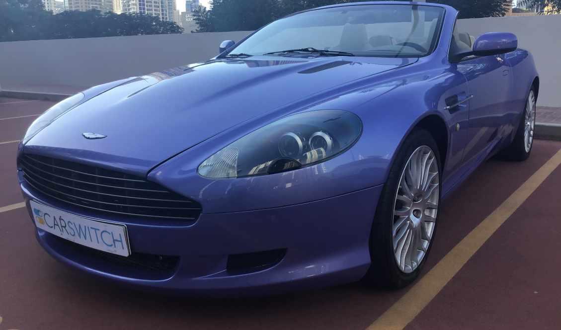 2009 Aston Martin Db9 6 0l V12 Aston Martin Db 9 Model 2009 Dubai