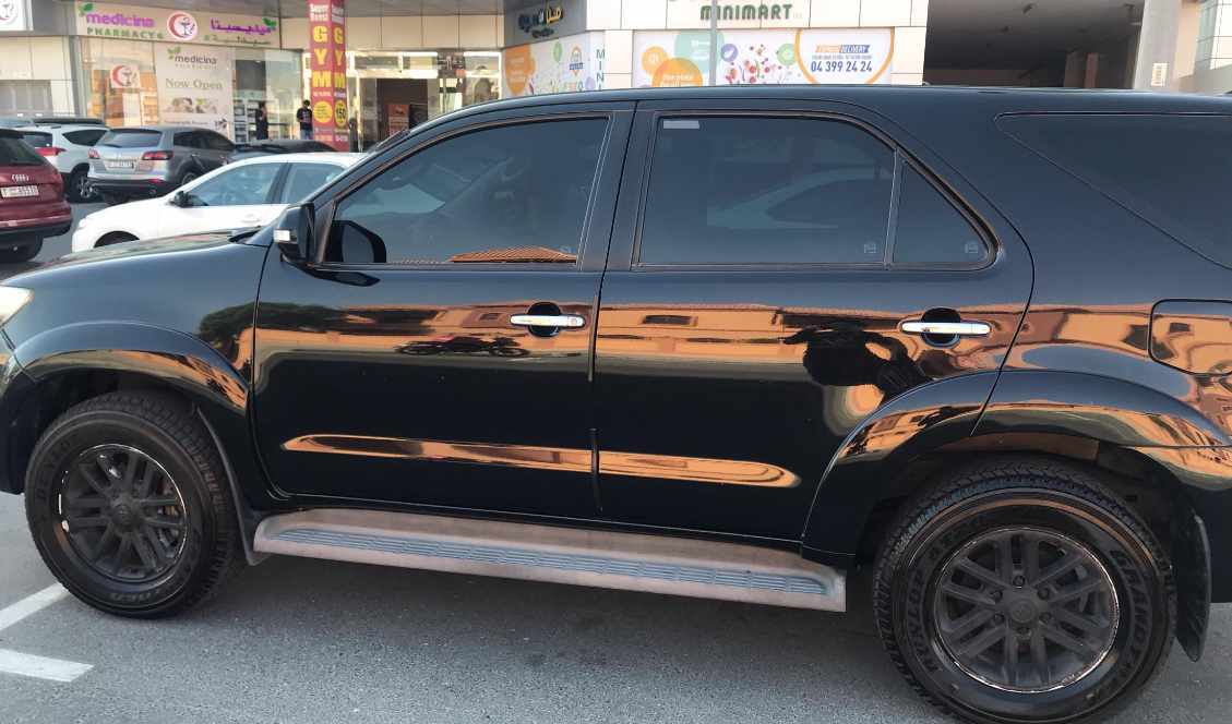 Toyota Fortuner 2015 Black for sale on getthat com - AED 53,000