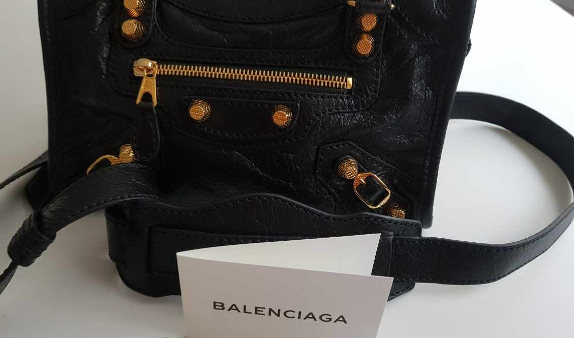 54f85312a4 Bag Balenciaga Mini City Gold for Sale in Dubai - getthat.com