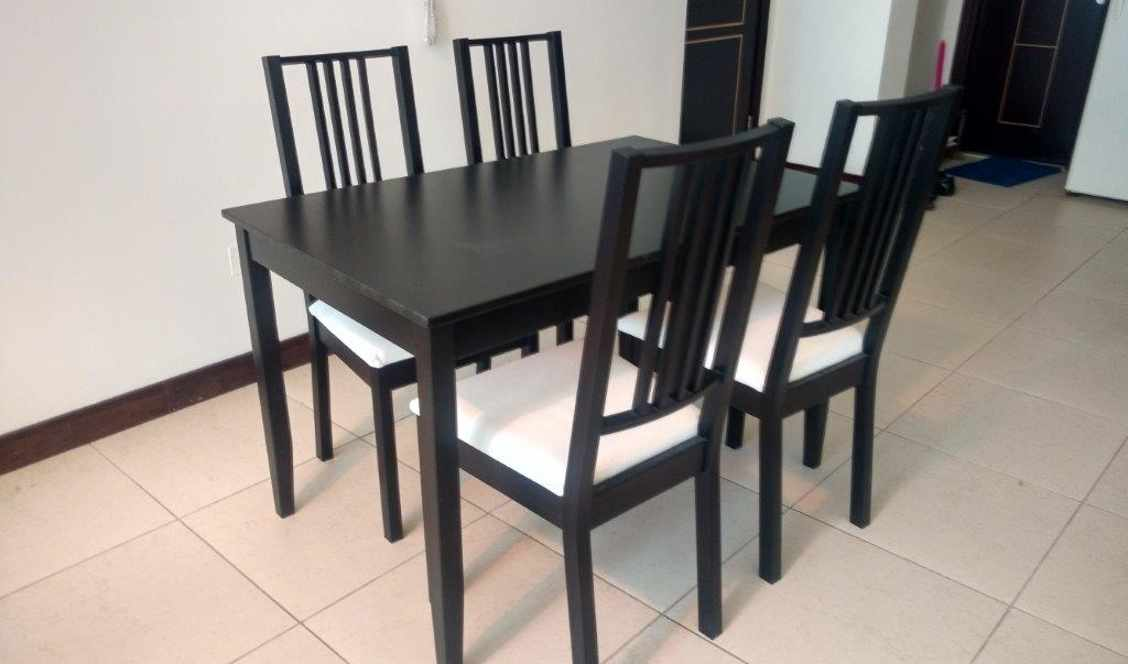 Dining Table 4 Seater Available For Sale In Dubai