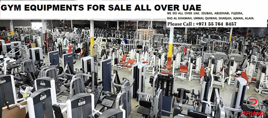 GYM EQUIPMENTS FOR SALE ALL OVER UAE for Sale in Dubai