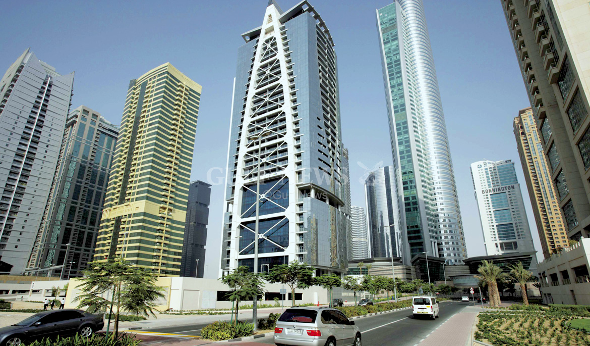 tall buildings in jlt dubai