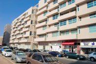 al barsha street shops and buildings
