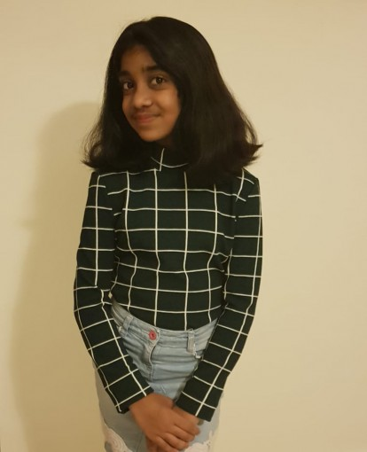 Anushka Rajesh, student