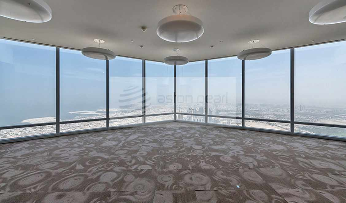 Full Floor FITTED Office in Burj Khalifa Corporate for sale